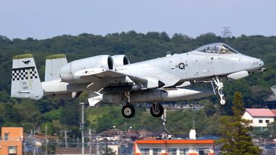 78-0615 - Fairchild A-10C Thunderbolt II - United States - US Air Force (USAF)