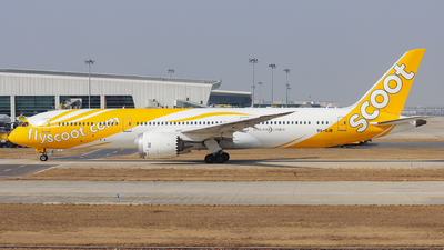 A picture of 9VOJB - Boeing 7879 Dreamliner - Scoot - © LuYifeng