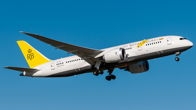 V8-DLE - Boeing 787-8 Dreamliner - Royal Brunei Airlines