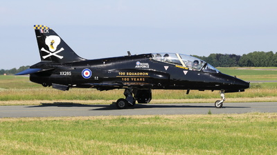 XX285 - British Aerospace Hawk T.1A - United Kingdom - Royal Air Force (RAF)