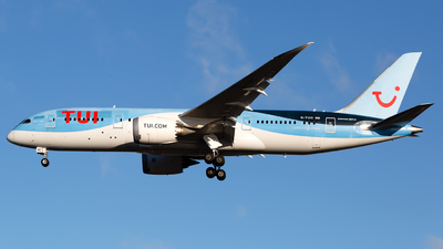 A picture of GTUIC - Boeing 7878 Dreamliner - TUI fly - © Chris Pitchacaren