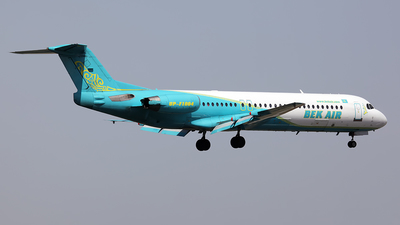 UP-F1004 - Fokker 100 - Bek Air
