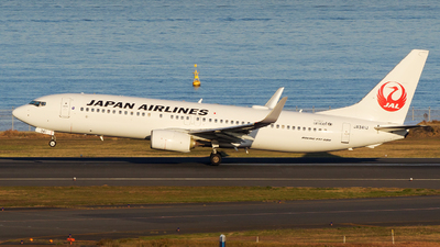 A picture of JA341J - Boeing 737846 - Japan Airlines - © tomobile