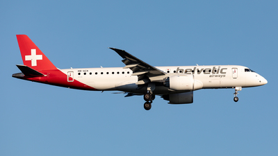 A picture of HBAZA - Embraer E190E2 - Helvetic Airways - © Sebastian Sowa