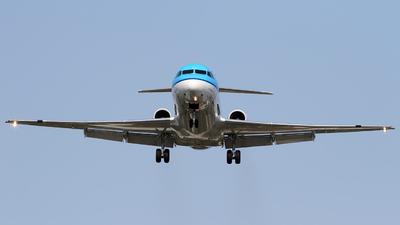 PH-KZH - Fokker 70 - KLM Cityhopper
