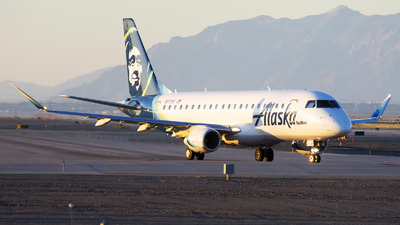N177SY - Embraer 170-200LR - Alaska Airlines (Skywest Airlines)
