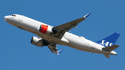 A picture of SEROA - Airbus A320251N - SAS - © Javier Rodriguez - Amics de Son Sant Joan