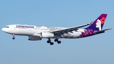 A picture of N380HA - Airbus A330243 - Hawaiian Airlines - © Ricky Teteris