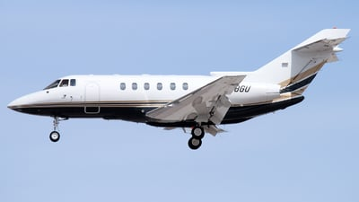 N18GU - Raytheon Hawker 800XP - Private