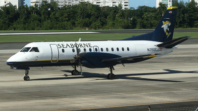 N350CJ - Saab 340B - Seaborne Airlines