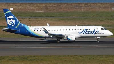 A picture of N632QX - Embraer E175LR - Alaska Airlines - © Jason Whitebird