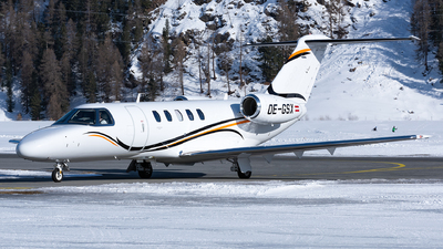 OE-GSX - Cessna 525C CitationJet 4 - International Jet Management