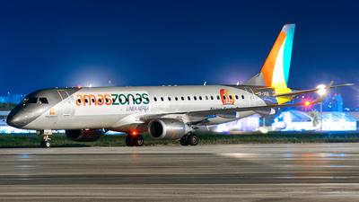 CP-3135 - Embraer 190-100LR - Linea Aerea Amaszonas