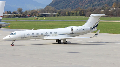 A picture of LZFIA - Gulfstream G550 - BH Air - © Christoph Plank