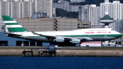 VR-HOZ - Boeing 747-467 - Cathay Pacific Airways