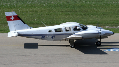 A picture of HBLQY - Piper PA34220T Seneca II - [3448006] - © Terry Figg