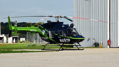 N497P - Bell 407 - PHI Air Medical