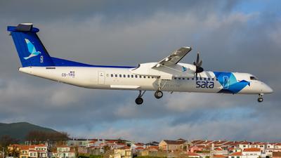 A picture of CSTRG - De Havilland Canada Dash 8400 - SATA Air Acores - © César Silva - Azores