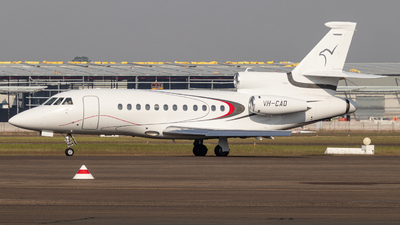 VH-CAD - Dassault Falcon 900 - Falcon Air