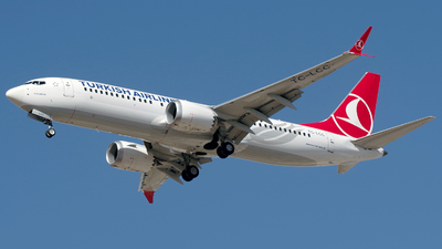 A picture of TCLCC - Boeing 737 MAX 8 - Turkish Airlines - © Buzu