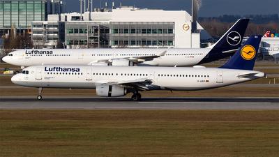 D-AIRO - Airbus A321-131 - Lufthansa