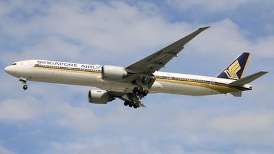 9V-SWH - Boeing 777-312ER - Singapore Airlines