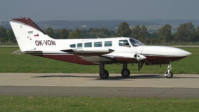 A picture of OKVOM - Cessna 402B - [402B1243] - © Hanys