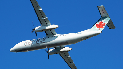 A picture of CGHTA - De Havilland Canada Dash 8300 - Air Canada - © RZ