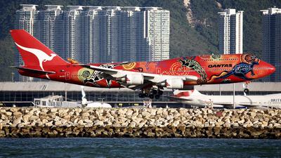 VH-OEJ - Boeing 747-438ER - Qantas