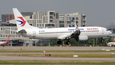 B-5589 - Boeing 737-89P - China Eastern Airlines