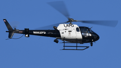 N662PD - Eurocopter AS 350B2 Ecureuil - United States - Los Angeles Police Department (LAPD)