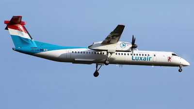 LX-LGH - Bombardier Dash 8-Q402 - Luxair - Luxembourg Airlines