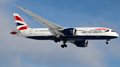A picture of GZBJC - Boeing 7878 Dreamliner - British Airways - © Christian Kruhl