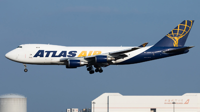 A picture of N418MC - Boeing 74747UF - Atlas Air - © Lazy Clutch