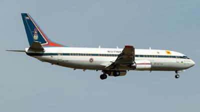 HS-CMV - Boeing 737-4Z6 - Thailand - Royal Thai Air Force