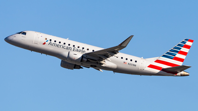 A picture of N201NN - Embraer E175LR - American Airlines - © Brandon Giacomin
