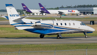 N487AV - Cessna 560XL Citation XLS Plus - Private