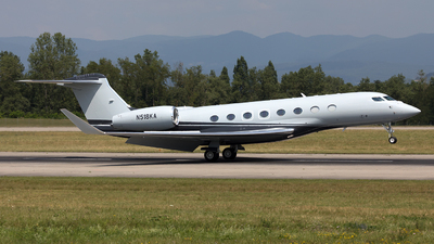 N518KA - Gulfstream G650ER - Private
