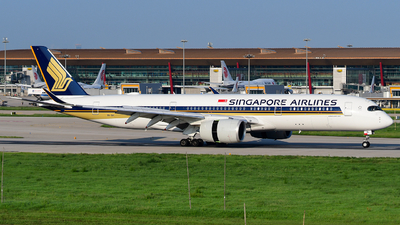9V-SHI - Airbus A350-941 - Singapore Airlines