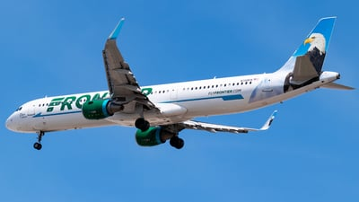 A picture of N709FR - Airbus A321211 - Frontier Airlines - © Ricky Teteris