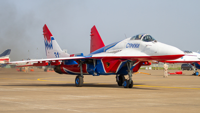 31 - Mikoyan-Gurevich MiG-29A Fulcrum - Russia - Air Force