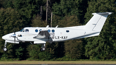 LX-KAY - Beechcraft B200GT Super King Air - Private