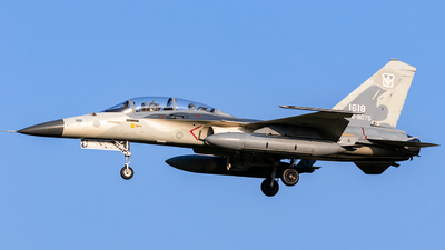 1618 - AIDC F-CK-1D Ching Kuo  - Taiwan - Air Force