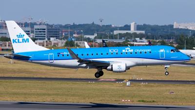 A picture of PHEXR - Embraer E175STD - KLM - © Kris Van Craenenbroeck