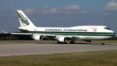 N493EV - Boeing 747-4H6(BDSF) - Evergreen International Airlines