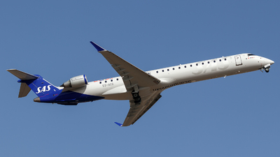 ES-ACG - Bombardier CRJ-900LR - Scandinavian Airlines (Xfly)