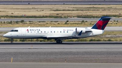 A picture of N779CA - Mitsubishi CRJ200LR - Delta Air Lines - © David Lee