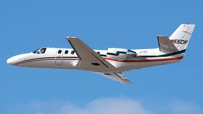 A picture of N55CH - Cessna 560XL Citation Excel - [5605622] - © Jeremy D. Dando
