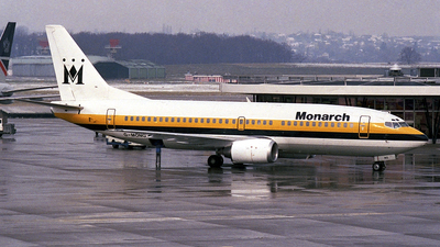 G-MONG - Boeing 737-3T0 - Monarch Airlines