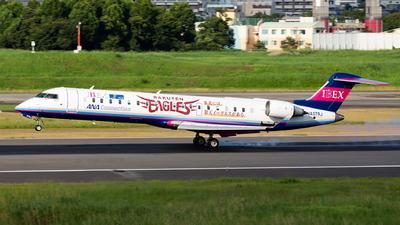 A picture of JA07RJ - Mitsubishi CRJ702ER - Ibex Airlines - © Yuta